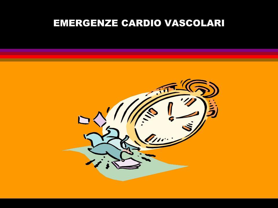 EMERGENZE CARDIO VASCOLARI