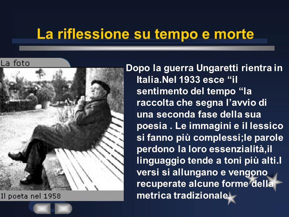 La formazione e la 1° produzione Giuseppe Ungaretti nasce nel 1888 ad Alessandria dEgitto e trascorre linfanzia e ladolescenza in Africa.Dopo il liceo