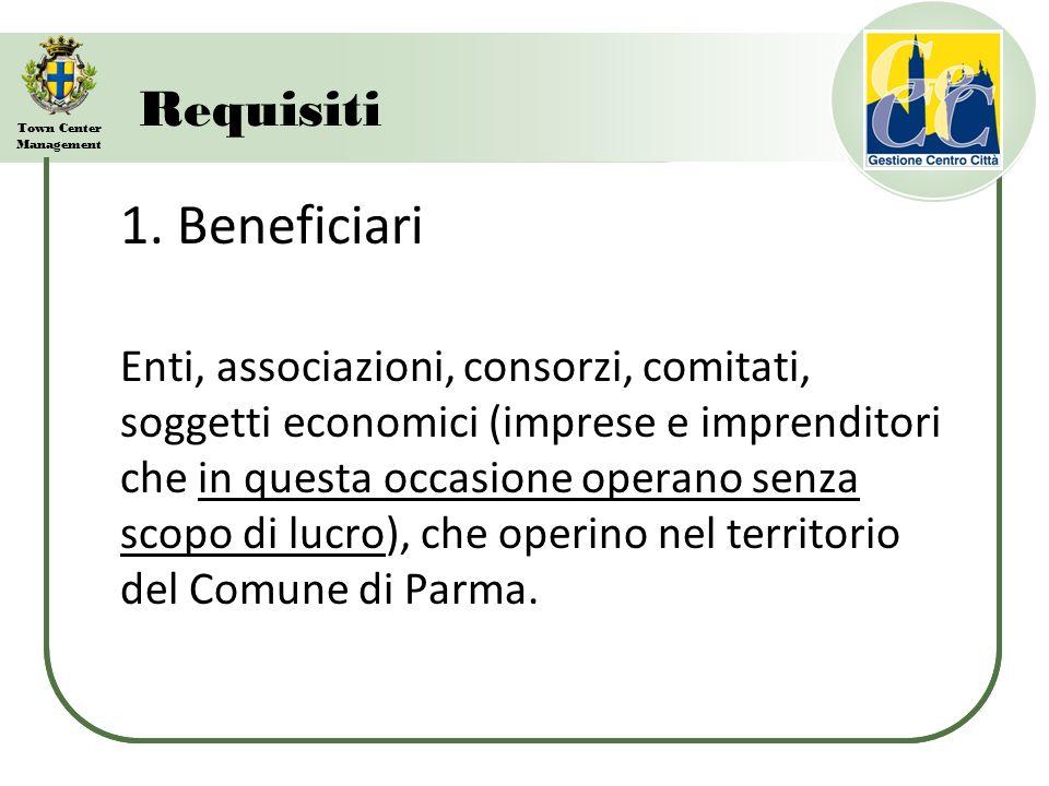 Town Center Management Requisiti 2.