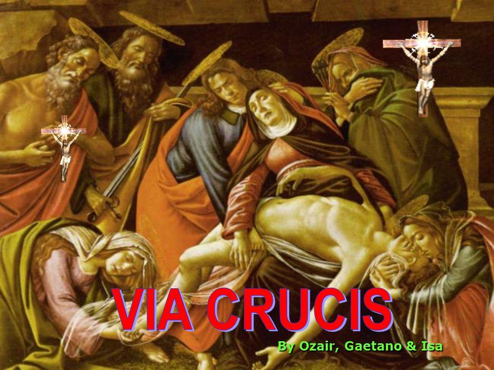 XI – GESU E INCHIODATO SULLA CROCE Jesus is nailed to the Cross Liberandoci attraverso la sofferenza della croce, Gesù sapeva che, molte volte, anche noi avremmo dovuto affrontare la croce per restare fedeli al nostro battesimo.