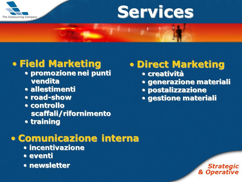Comunicazione internaComunicazione interna incentivazione incentivazione eventi eventi newsletter newsletterServices Field MarketingField Marketing pr