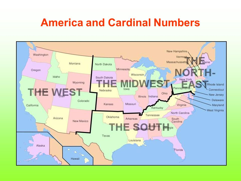 America and Cardinal Numbers