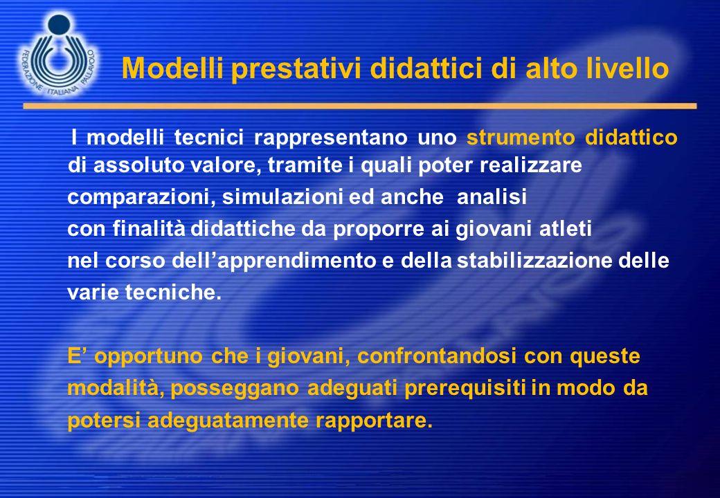 Modelli prestativi didattici di alto livello I modelli tecnici rappresentano uno strumento didattico di assoluto valore, tramite i quali poter realizz