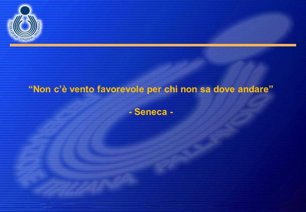Non cè vento favorevole per chi non sa dove andare - Seneca -