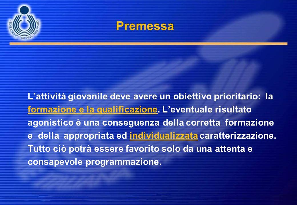 Progetto sviluppo agonistico In quali aspetti il giovane manifesta competitività tecnica.