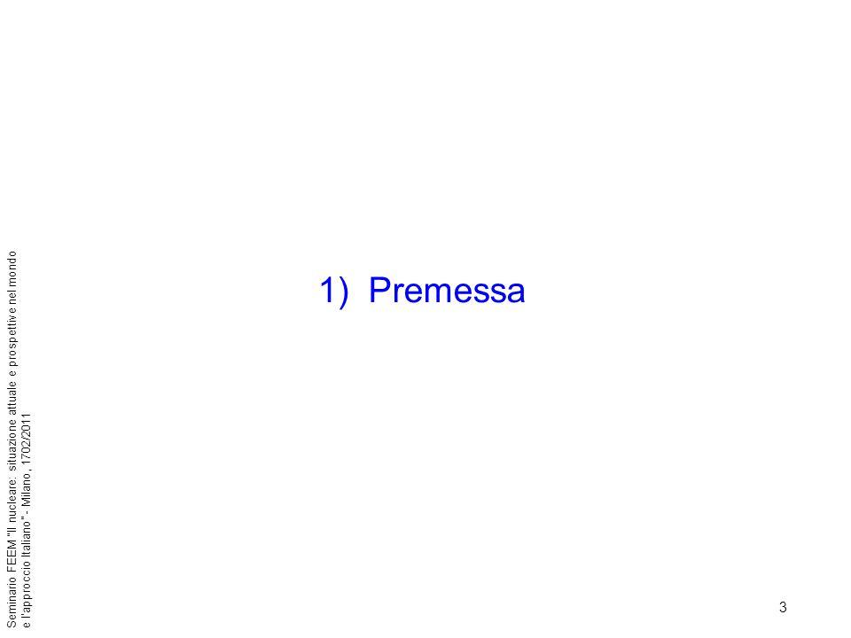 4 Seminario FEEM Il nucleare: situazione attuale e prospettive nel mondo e lapproccio Italiano - Milano, 1702/2011 Lenergia è sempre più importante per lo sviluppo socio-economico dellumanità.