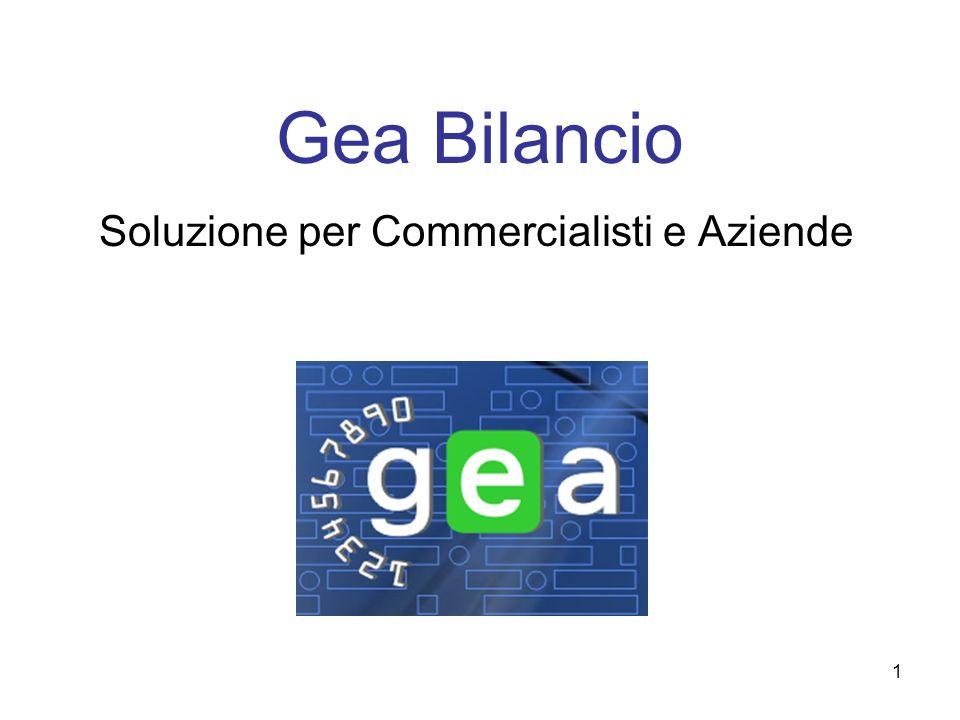 1 Gea Bilancio Soluzione per Commercialisti e Aziende