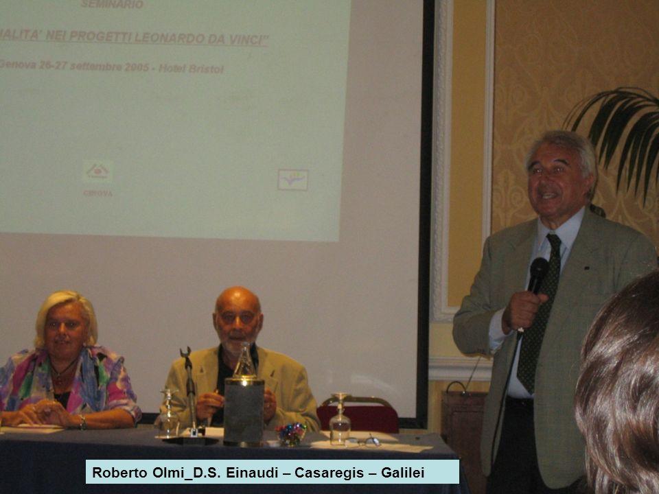 Roberto Olmi_D.S. Einaudi – Casaregis – Galilei