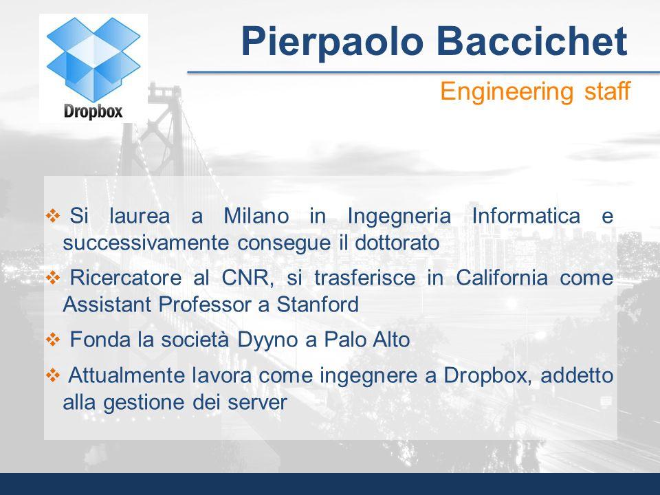 Si laurea a Milano in Ingegneria Informatica e successivamente consegue il dottorato Ricercatore al CNR, si trasferisce in California come Assistant P