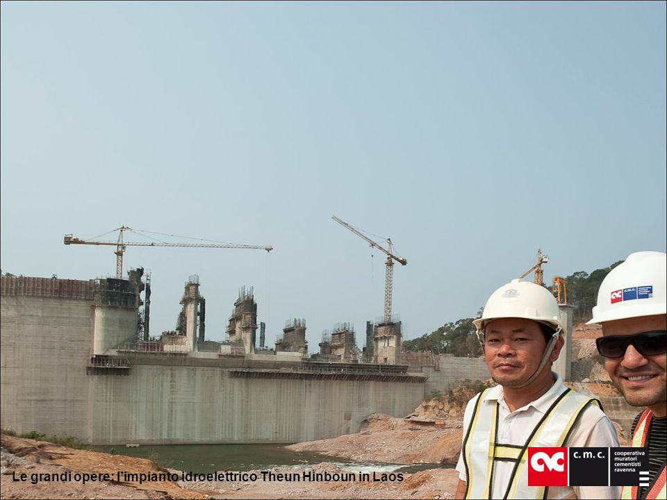 Le grandi opere: limpianto idroelettrico Theun Hinboun in Laos