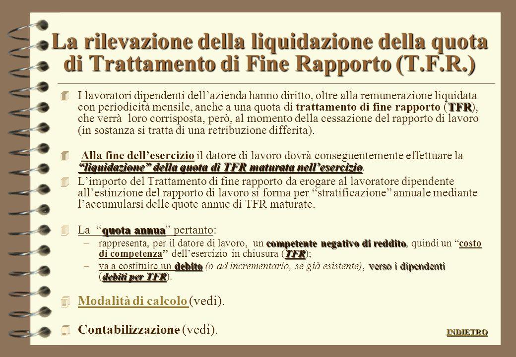 VALUTAZIONE DEI CREDITI (di natura commerciale) 4 Per rispettare il principio di prudenza occorre effettuare un attento controllo di ciascun credito d