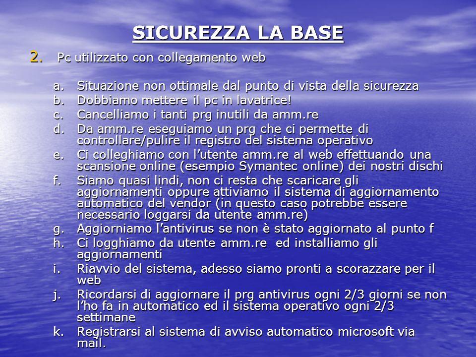 SICUREZZA LA BASE 2.
