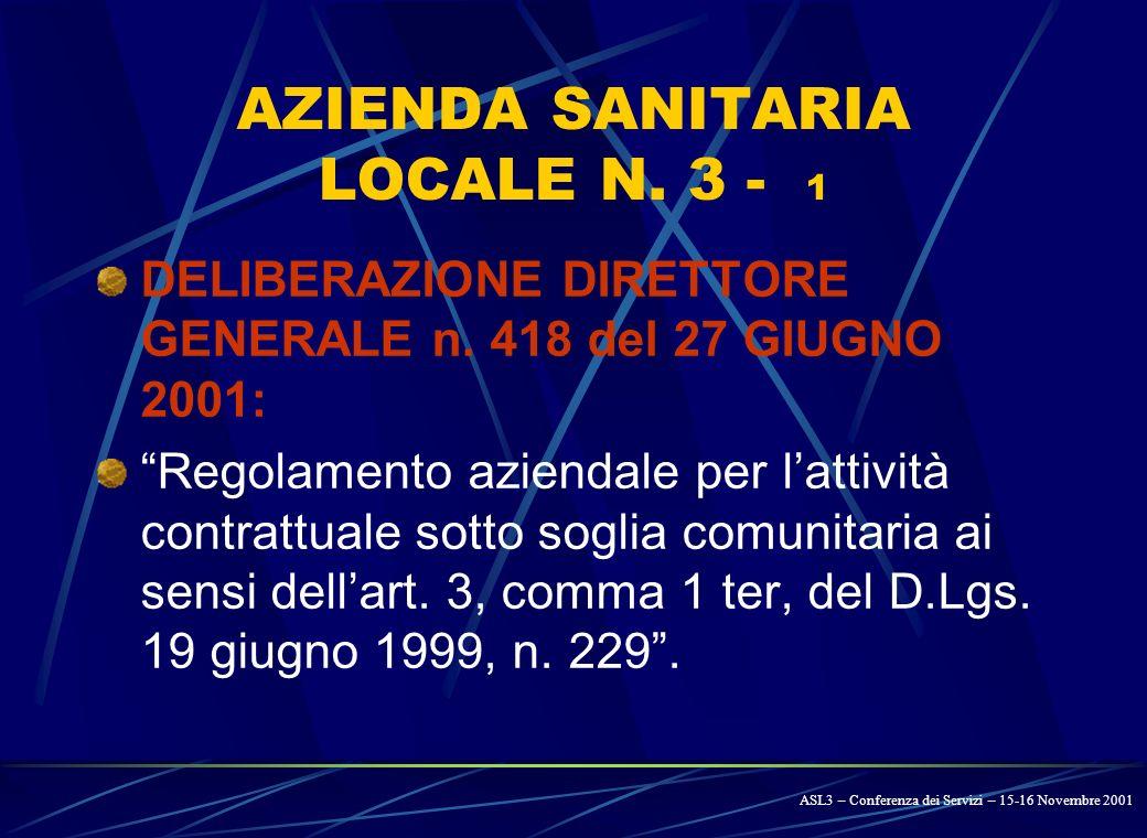 LA REGIONE UMBRIA - 3 DELIBERAZIONE DI GIUNTA REGIONALE 20 FEBBRAIO 2001, N.