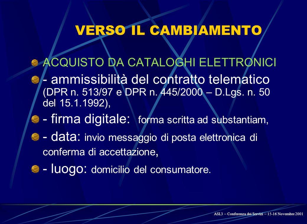 ASL 3 – Foligno SERVIZIO: Provveditorato - Economato PROVVEDITORATOPROVVEDITORATO PROVVEDITORATOPROVVEDITORATO PROVVEDIMENTO AGGIUDICAZIONE PROCEDURA MAGAZZINO DOCUMENTI DI COMUNICAZIONE GESTIONE – INSERIMENTO SCHEDA CONTRATTO DITTA AGGIUDICATARIA ELENCO PRODOTTI PREZZI UNITARI AGGIORNAMENTO AUTOMATICO PREZZI UNITARI AI SERVIZI ALLA DITTA AGGIUDICATARIA REPORTS - CONSULTAZIONE ORDINI CONTR.