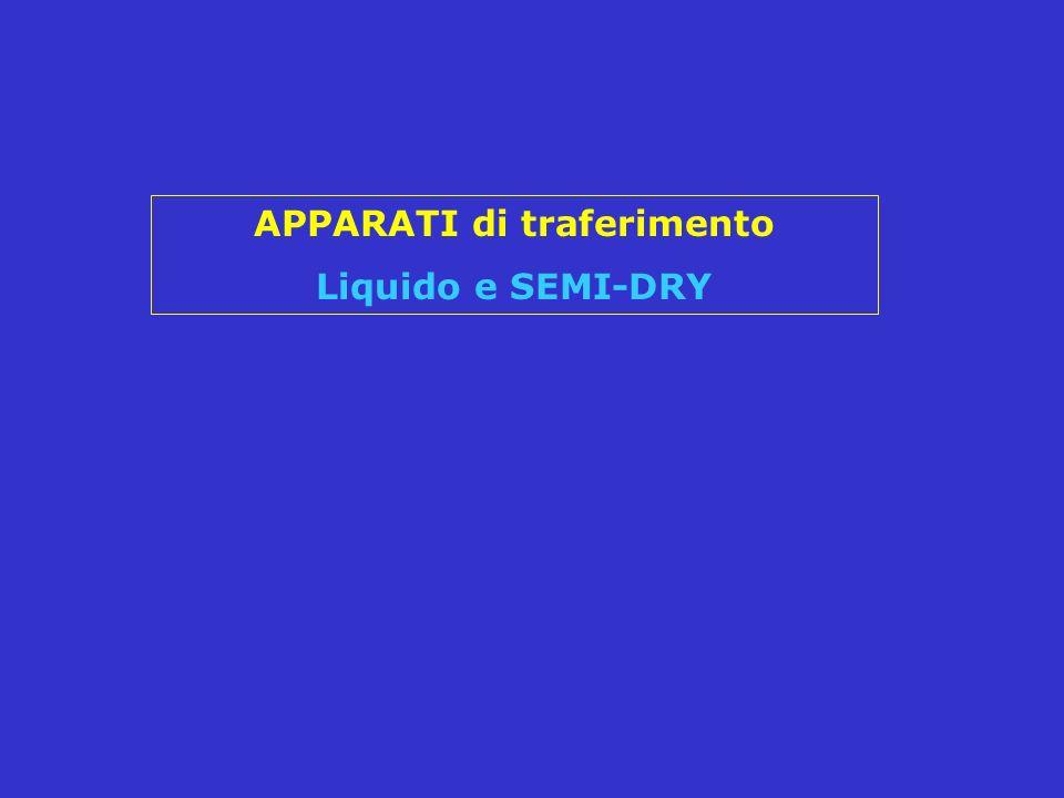 APPARATI di traferimento Liquido e SEMI-DRY