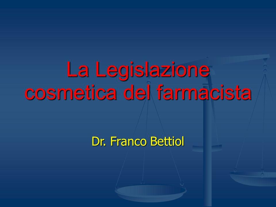 Legge 11 Ottobre 1986, N.713 4.Strutture igienico-sanitarie.