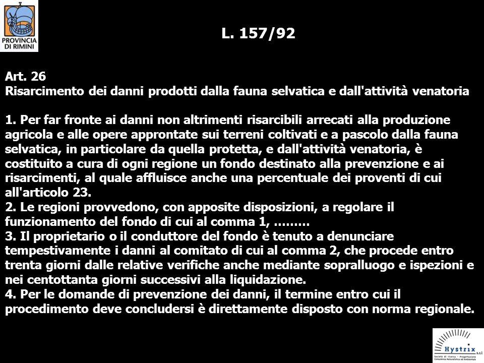 L.157/92 Art.