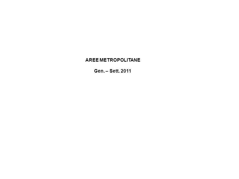 AREE METROPOLITANE Gen. – Sett. 2011