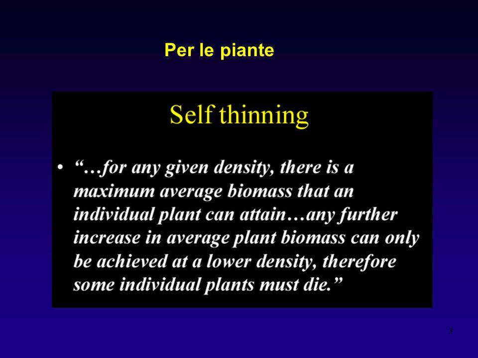 3 Per le piante