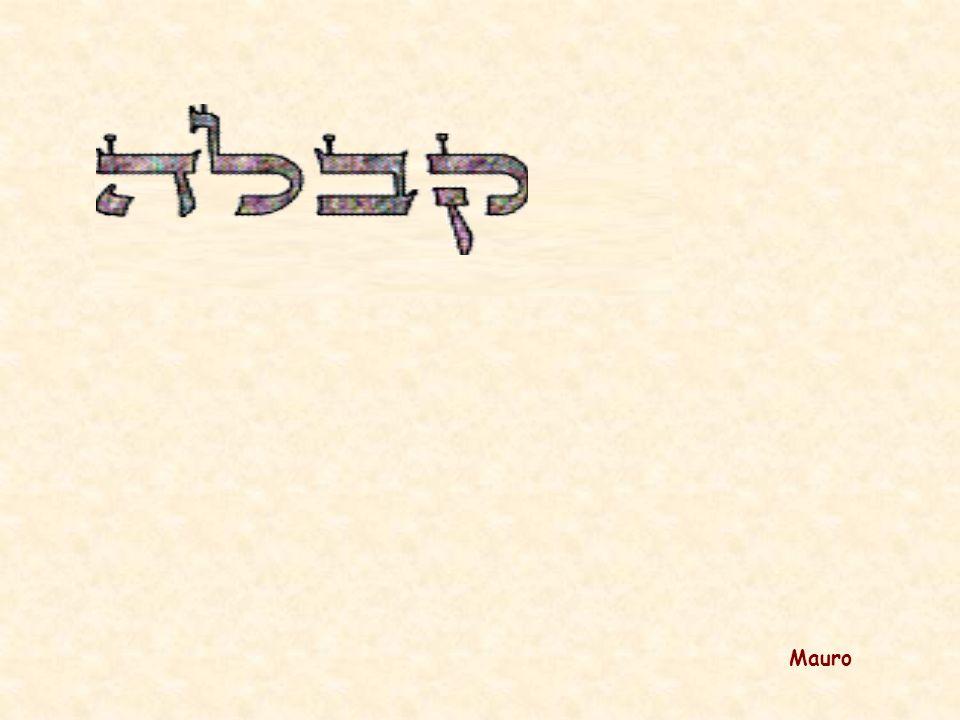 La somma delle parole: HAYA, HOVE e IHIE è 61 come la parola AIN nulla il che significa che Dio è l infinitamente piccolo e l infinitamente grande.