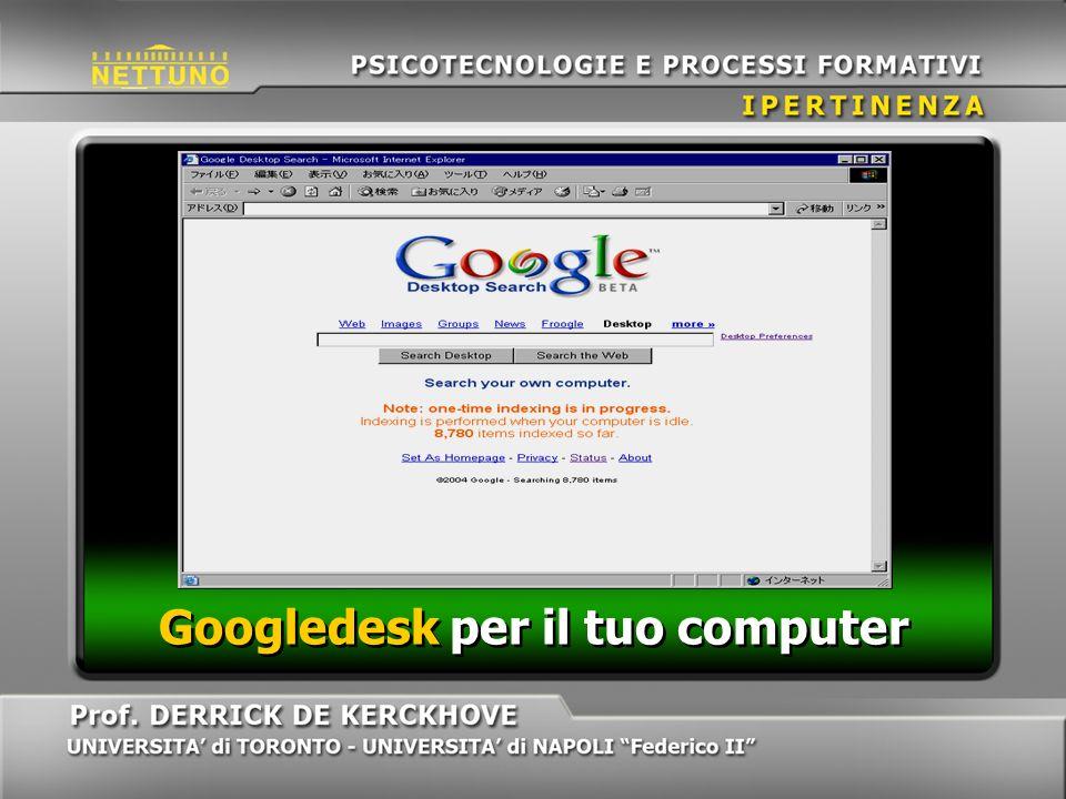 Googledesk per il tuo computer