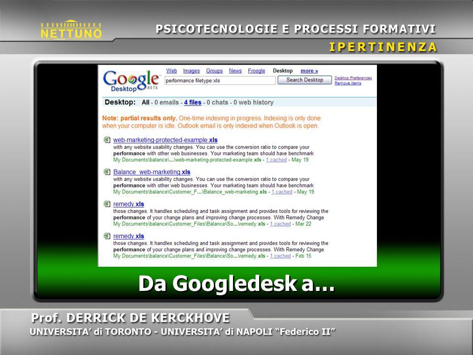 Da Googledesk a…
