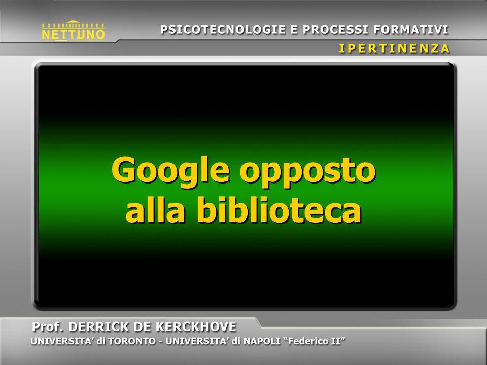 Google opposto alla biblioteca