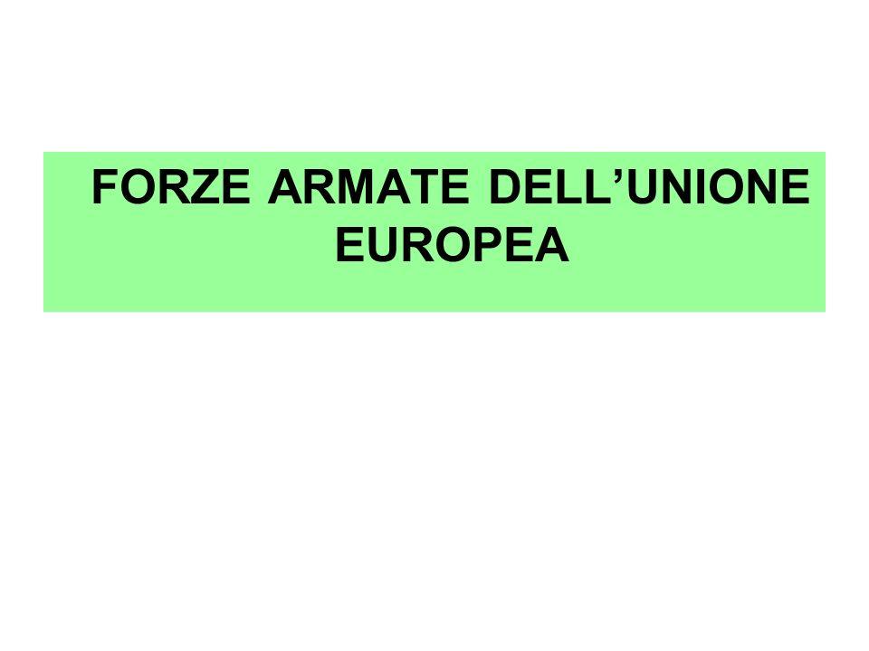 FORZE ARMATE DELLUNIONE EUROPEA