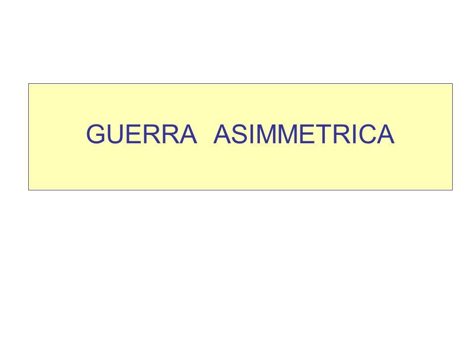 GUERRA ASIMMETRICA