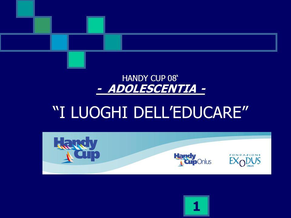 1 HANDY CUP 08 - ADOLESCENTIA - I LUOGHI DELLEDUCARE