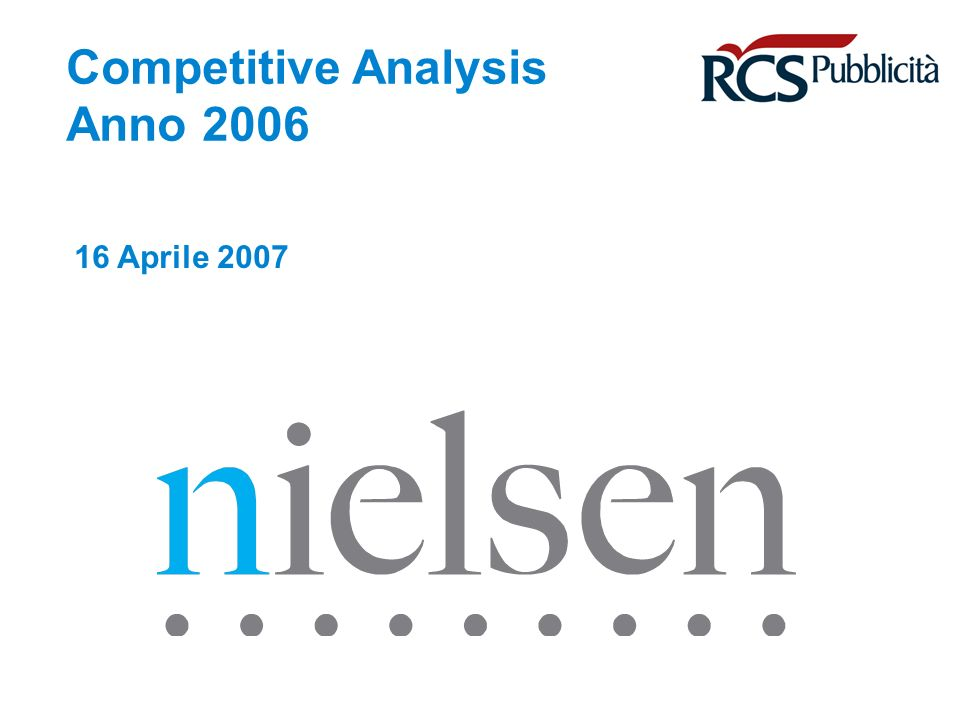 April 29, 2014 Confidential & Proprietary Copyright © 2007 The Nielsen Company Copyright © Nielsen Media Research Page 42 Il mercato dei Periodici +4,6% +6,0% Mio Comm.Nazionale