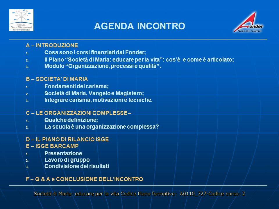 PROGETTO 5 – RETE INTERNAZIONALE MARISTA (RIM) D - IL PIANO DI RILANCIO ISGE PROGETTO 5 – RETE INTERNAZIONALE MARISTA (RIM) DURATA: 187 GG DAL 23/05/2011 AL 07/02/2012.