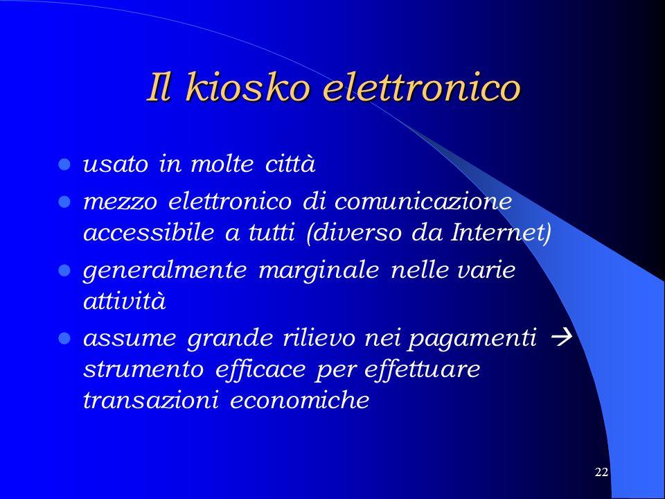 21 Le domande di servizi preferenze nette verso: - il contatto personale - il materiale postale il contatto telefonico non viene considerato lo strume