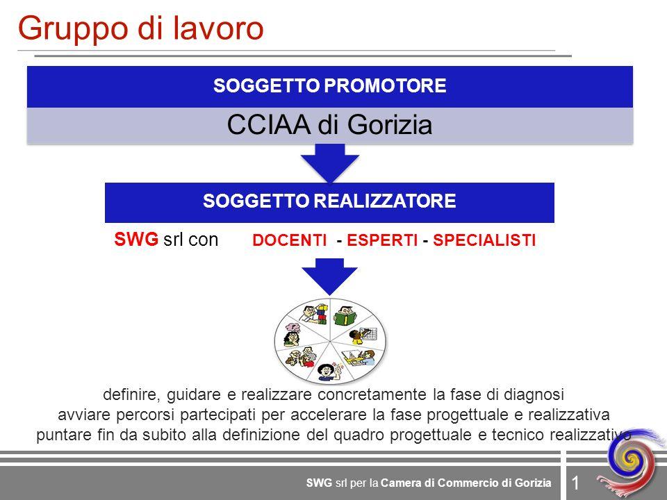 2 SWG srl per la Camera di Commercio di Gorizia Obiettivo Quali iniziative finanziare e per chi.