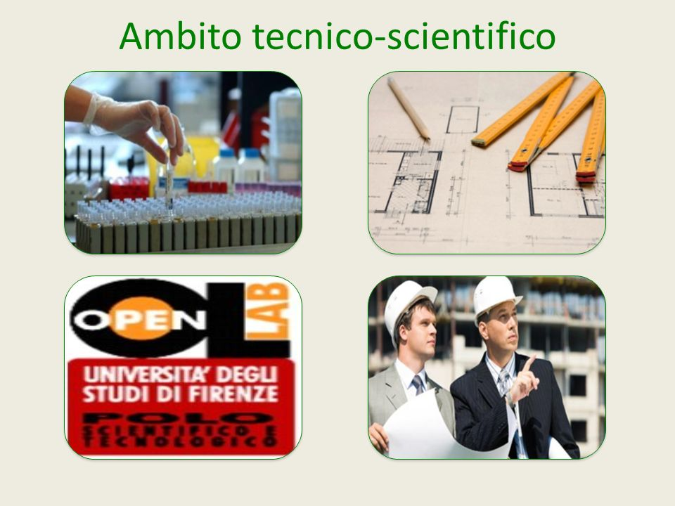 Ambito tecnico-scientifico