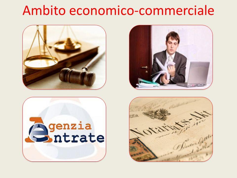 Ambito economico-commerciale