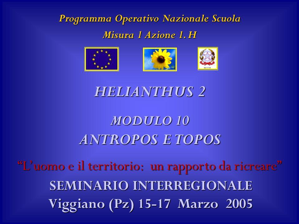 Programma Operativo Nazionale Scuola Misura 1 Azione 1.