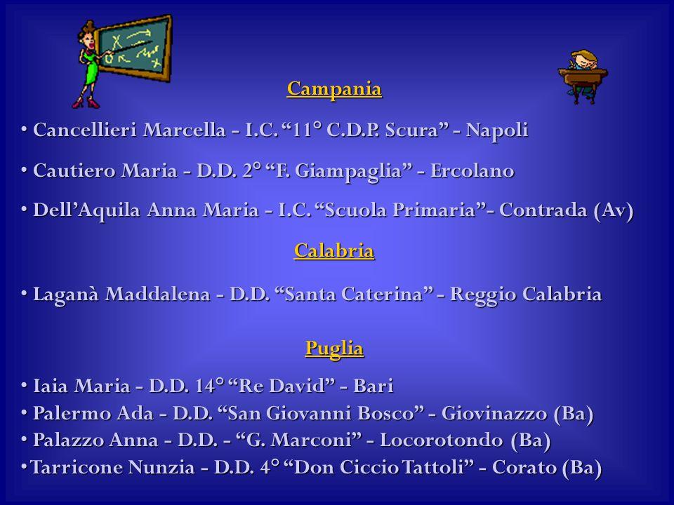 Campania Cancellieri Marcella - I.C. 11° C.D.P. Scura - Napoli Cancellieri Marcella - I.C.