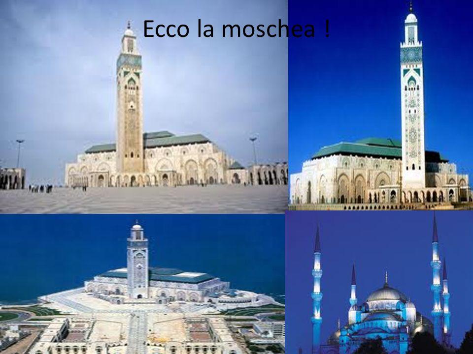 Ecco la moschea !