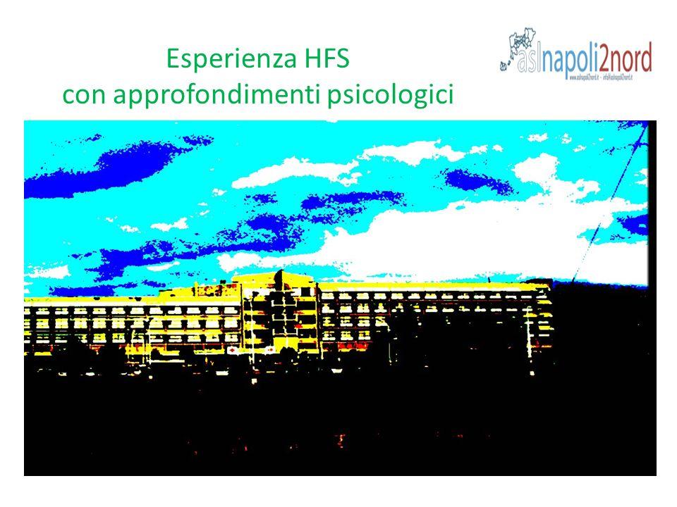 Esperienza HFS con approfondimenti psicologici