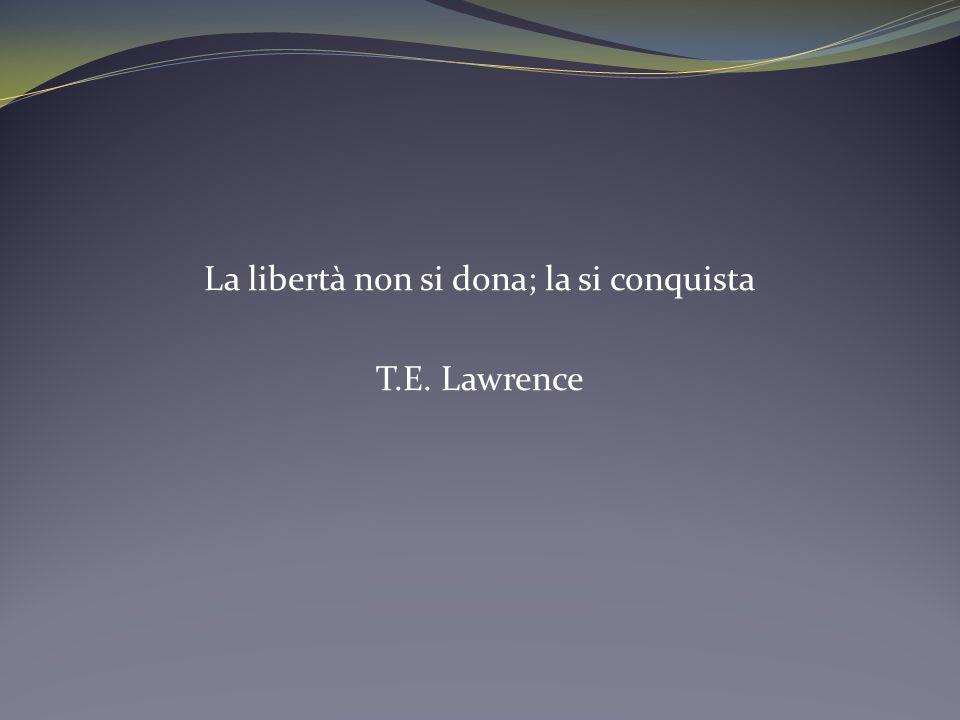 Luomo porta dentro di sé il mondo della libertà, e la virtù è la figliuola divina della libertà.