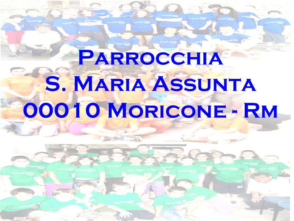 Parrocchia S. Maria Assunta 00010 Moricone - Rm