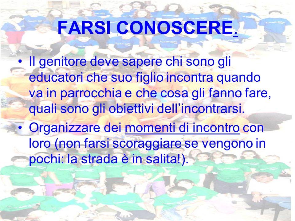 FARSI CONOSCERE.