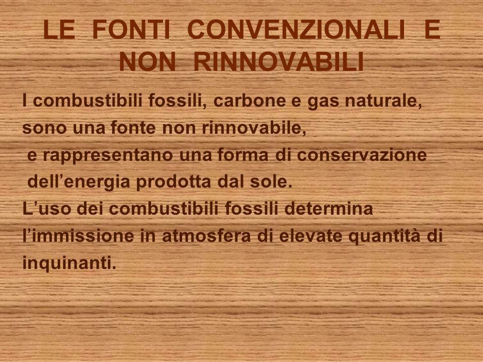 Fonti energetiche nuove e rinnovabili.