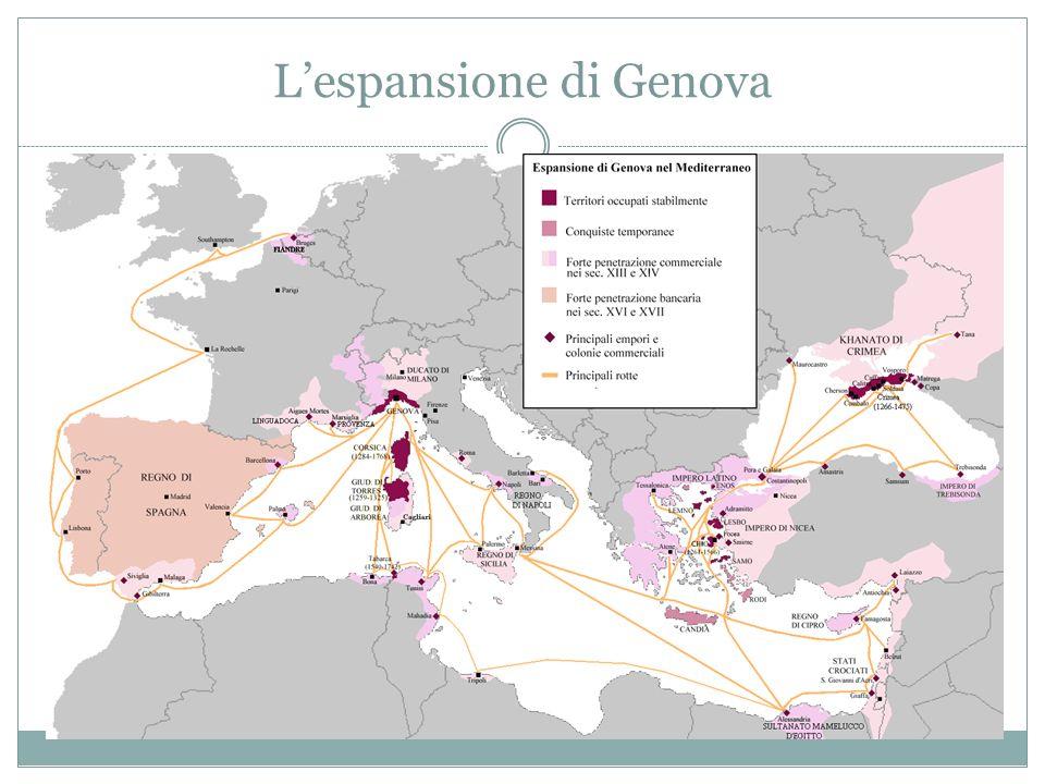 Pisa e Genova Dopo Amalfi, acquisirono importanza le città di Pisa, in Toscana, e Genova, in Liguria; esse sottrassero ai Saraceni le isole del Tirren