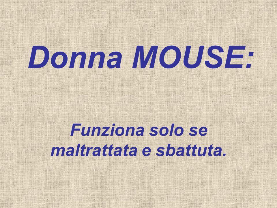 Donna HARD-DISK: Si ricorda di tutto, PER SEMPRE.