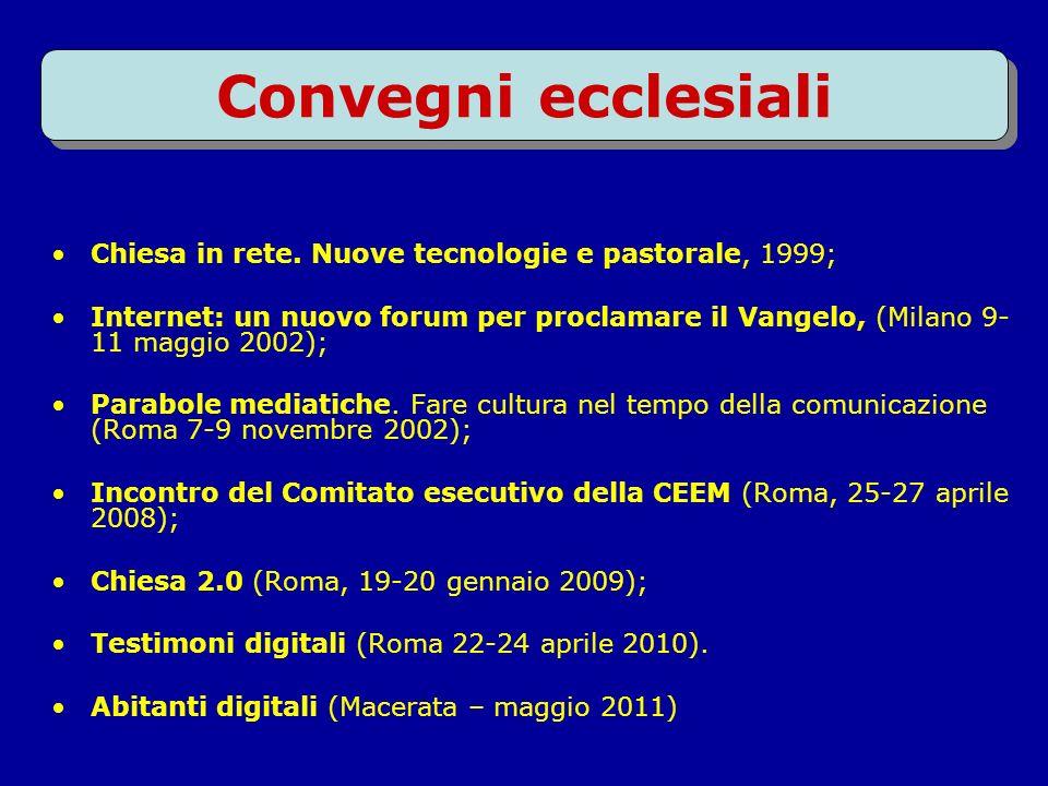 Documenti della Chiesa cattolica Internet: un nuovo forum per proclamare il Vangelo, 24 gennaio 2002; La Chiesa e Internet, 22 febbraio 2002; Etica in