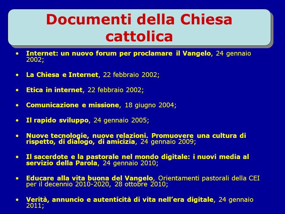 8 Internet, un nuovo forum per annunciare il Vangelo 36^ Giornata Mondiale delle Comunicazioni sociali 2002 Il 22 novembre 2001 questa immagine storic