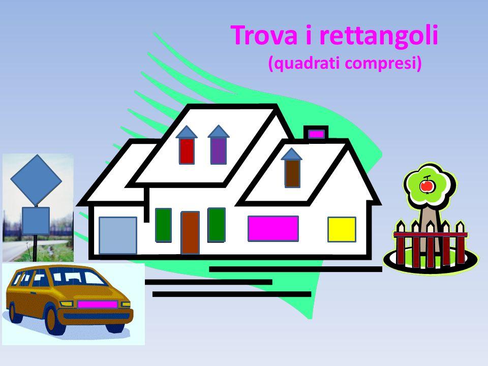 Trova i rettangoli (quadrati compresi)