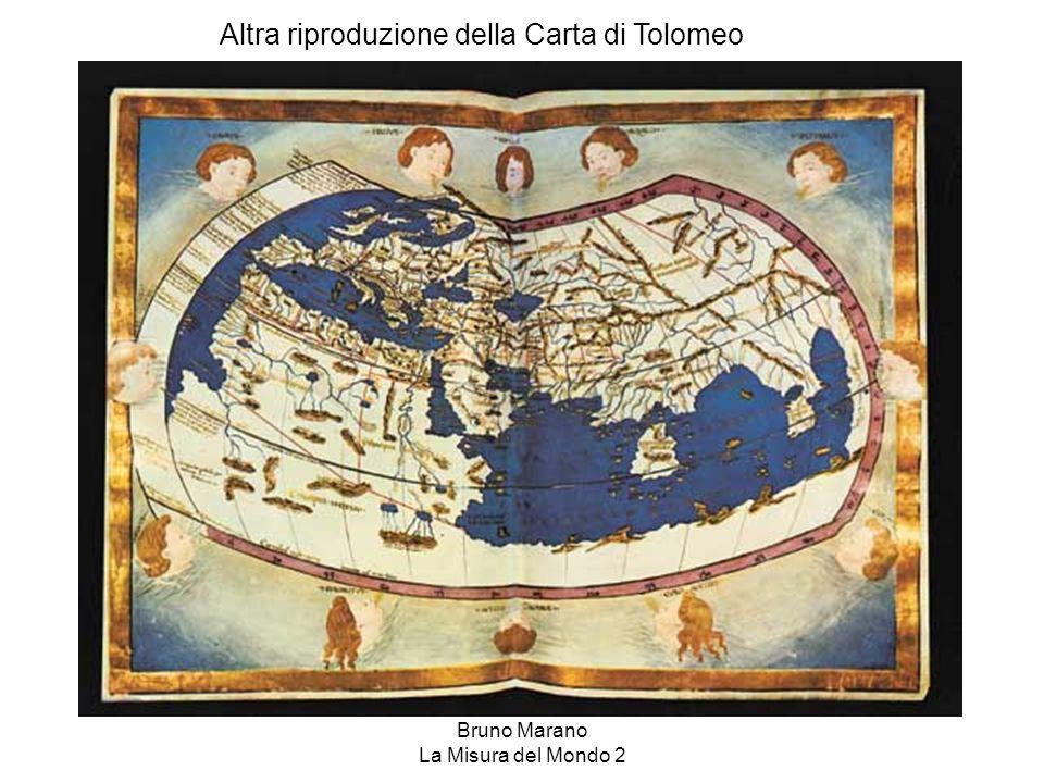 Bruno Marano La Misura del Mondo 2 Altra riproduzione della Carta di Tolomeo